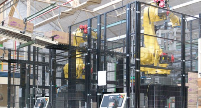 A Flexible and Compact Palletising Solution
