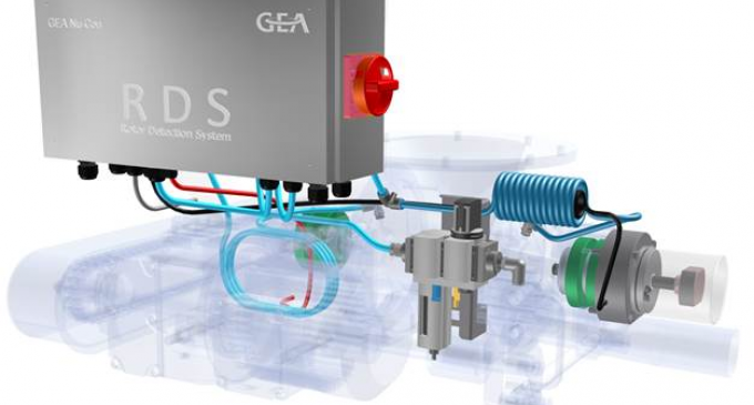 GEA Nu-Con's Generation 3 RDS Technology Brings Self Diagnostics to Rotary Valves