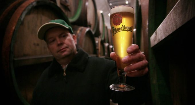 Record Export Sales For Czech Brewer
