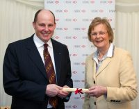 Andrew Burgess Receives Award For Services to Agriculture
