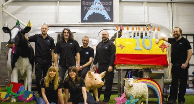 Ravenwood Celebrates a Decade as Linerless Labelling Experts