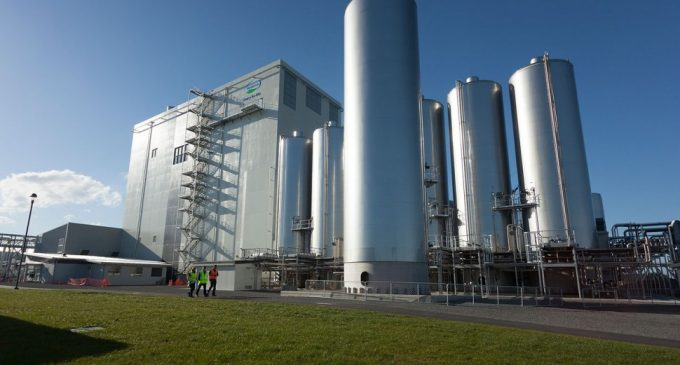 World's Largest Dairy Spray Dryer Completes its First Season