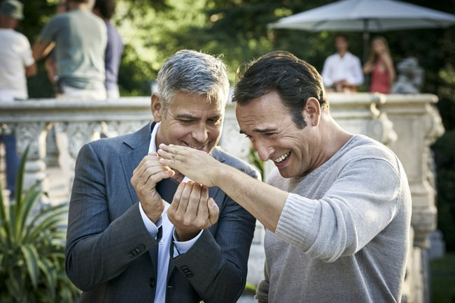 George clooney and jean dujardin launch new campaign for - Jean dujardin george clooney ...