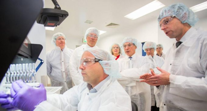 Science programmes accompany new Amgen facility