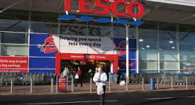 Tesco's sales grow for first time in two years