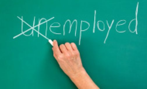 Unemployment rate at lowest figure since 2008