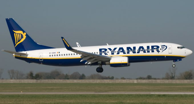 Ryanair Q3 Profit Falls 8 Percent to €95 Million, Traffic Grows 16 Percent