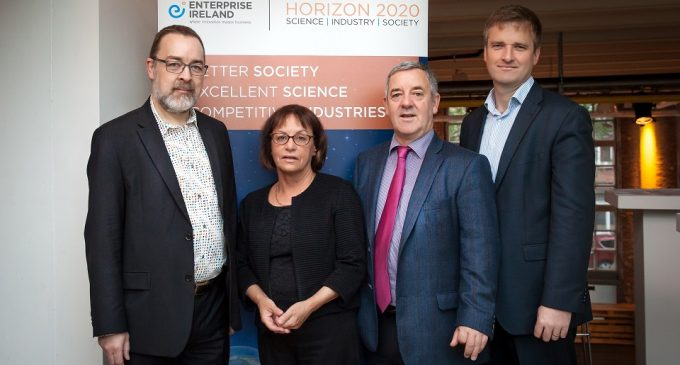 Irish SME's score €26.5 million with highest success rate in Horizon 2020 project
