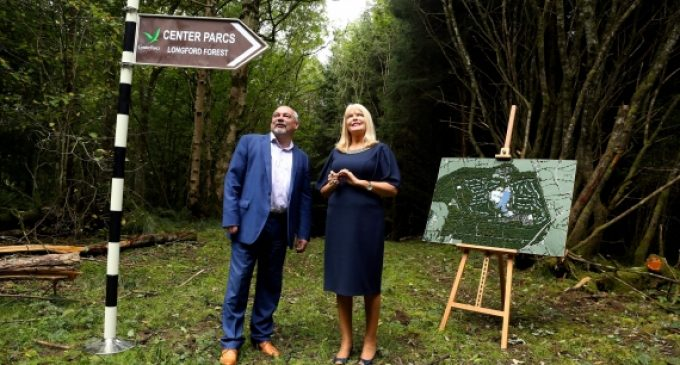 Center Parcs €233 million investment to create 1,750 jobs in Longford