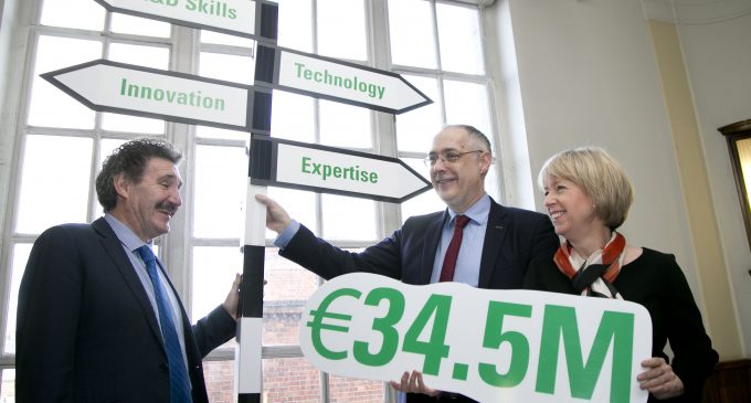 €34.5 Million in Funding Announced for the Technology Transfer Strengthening Initiative
