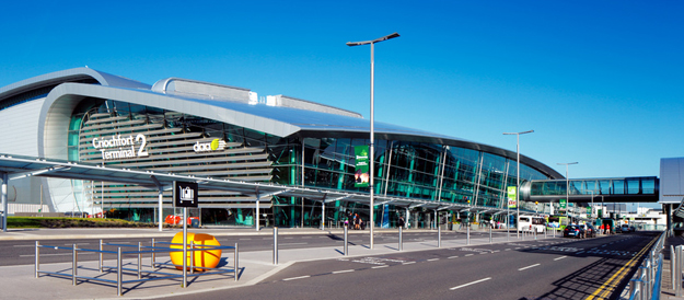 Happy St. Patrick's Day from Dublin Airport