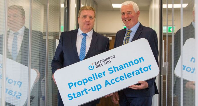 """""""Propeller Shannon"""" Start-Up Accelerator at Shannon Airport launches"""