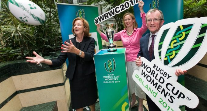 Tourism Ireland launches Women's Rugby World Cup campaign