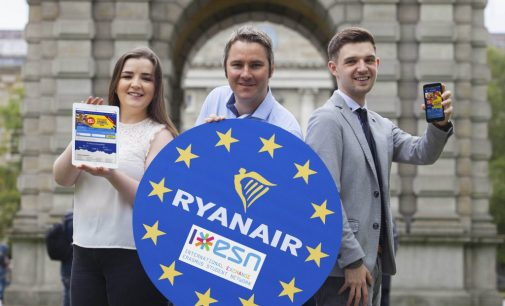 New 'Erasmus Student Network' booking platform launched at Ryanair