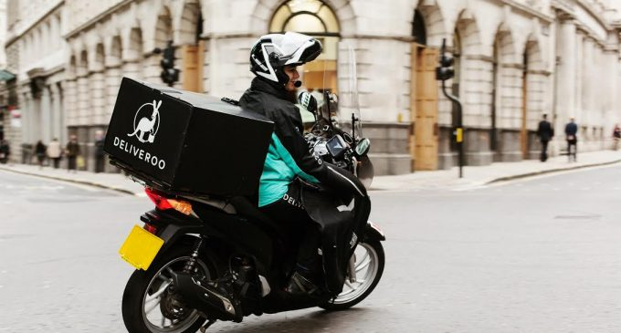 Deliveroo For Business Orders Jump