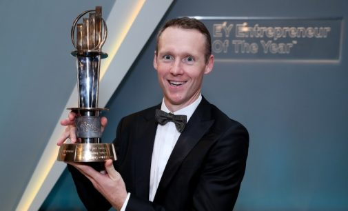 Jack Teeling Named EY Entrepreneur of The Year™ 2017 in the Emerging Category