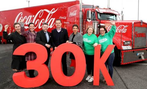 Coca-Cola HBC Employees Raise £30k/€34k For Charities