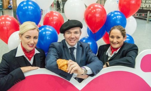 Cork Airport Welcomes Air France