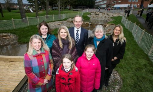£70,000 Rainwater Garden Completed at Clandeboye Primary School!