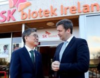 SK Biotek is First South Korean Pharma Company to Invest in Ireland