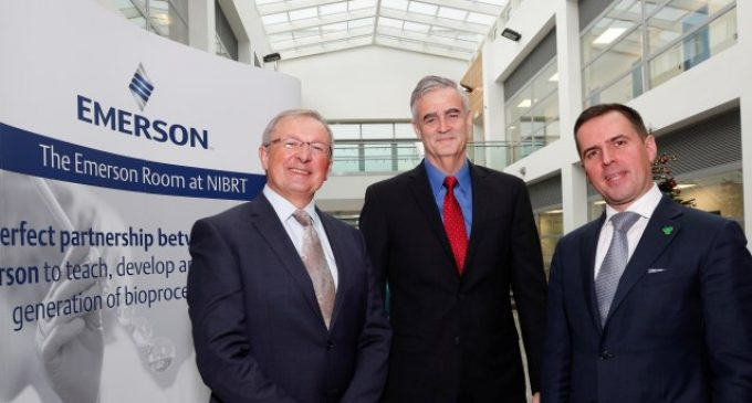 Emerson Collaborates With NIBRT to Help Upskill Ireland's Biopharma Workforce