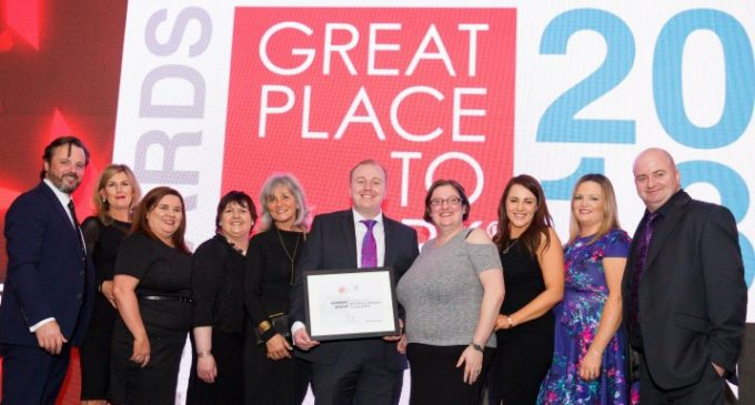 Construction Firm Sammon Group Recognised as One of Ireland's Best Places to Work