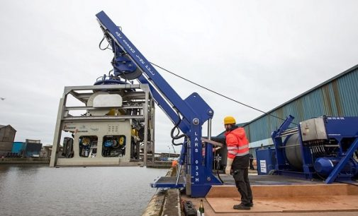 University of Limerick Launches Robot For Use in Marine Renewable Energy Sector
