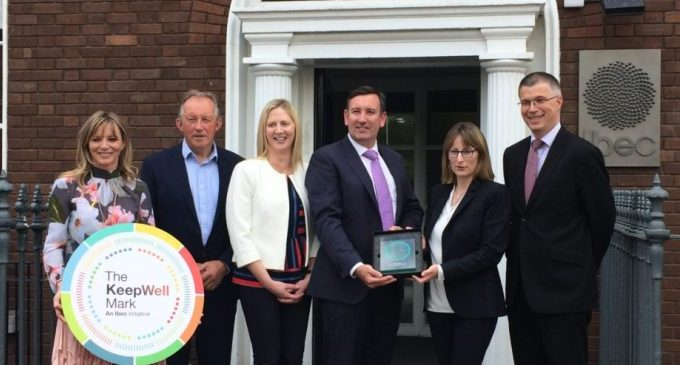 L&M Keating Awarded The KeepWell Mark by Ibec