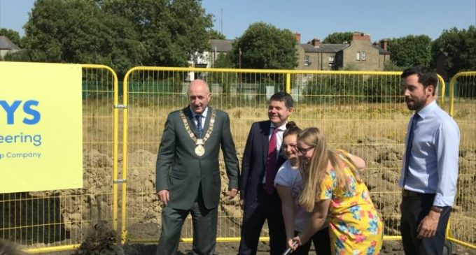 First Phase of the Regeneration of O'Devaney Gardens Gets Underway in Dublin