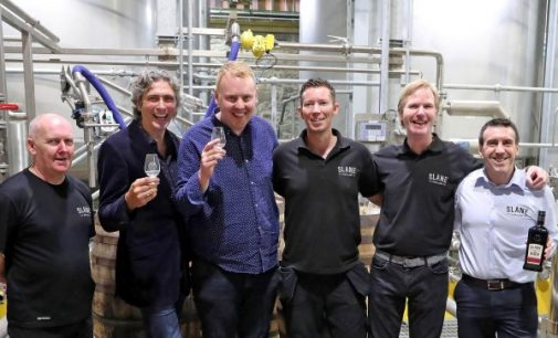 Slane Distillery Rolls Out First Barrel