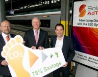 Solar AdTek Partners With Iarnród Éireann and Commuter Advertising Network to Create Significant Energy Savings