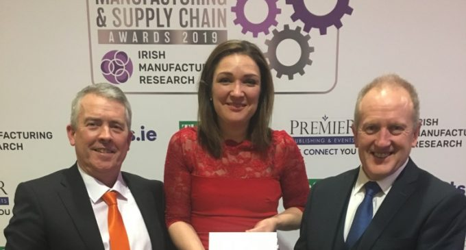 Tipperary Automation Company Wins at 2019 IMR Manufacturing and Supply Chain Awards