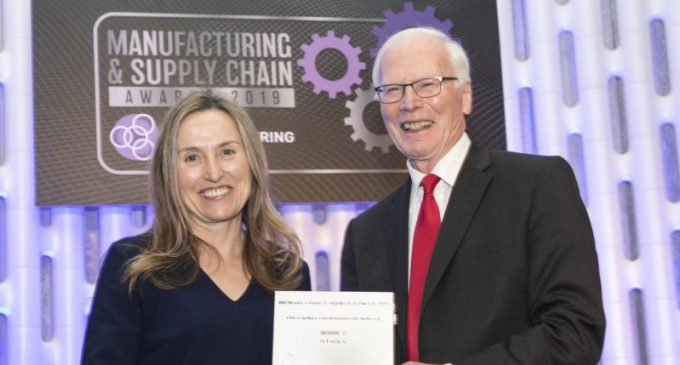 Winners of the 2019 IMR Manufacturing and Supply Chain Awards