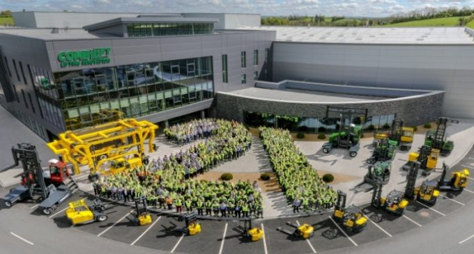 Combilift Celebrates 21 Years in Monaghan