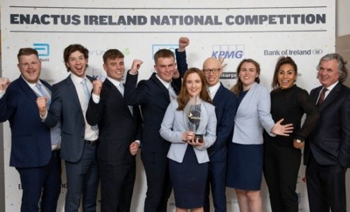 Trinity College Dublin Crowned 2019 Enactus Ireland Champions