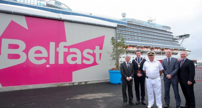 New Cruise Terminal Opens in Belfast Harbour