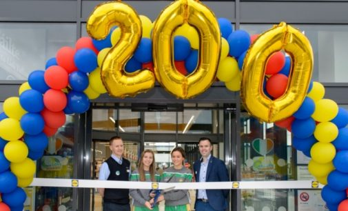 Lidl Opens 200th Store on the Island of Ireland