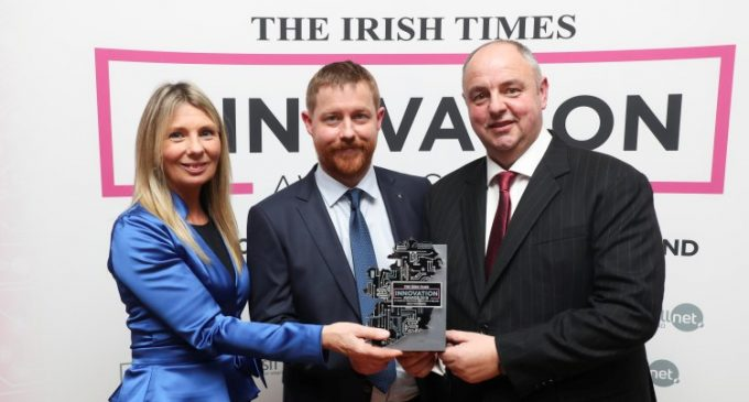 Biotech Company Auranta Scoops a 2019 Irish Times Innovation Award