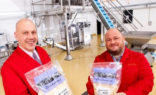Buchanans New Nut Factory Generates £1 Million GB Success