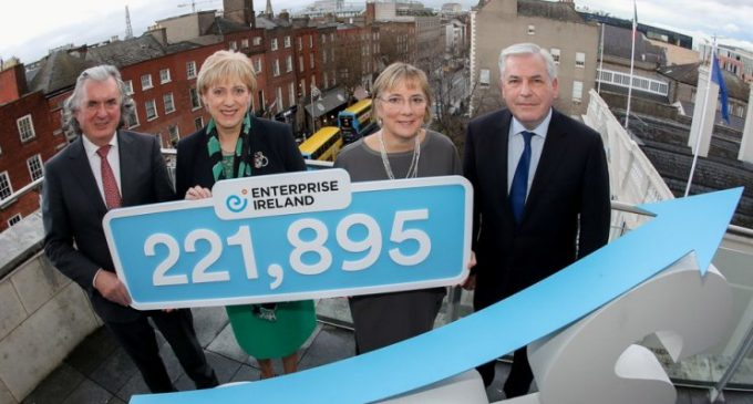 Record Number Now Employed by Enterprise Ireland Supported Companies