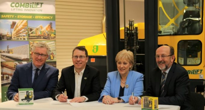 Strategic Industry-University Agreement For Border and North East Between DCU and Combilift
