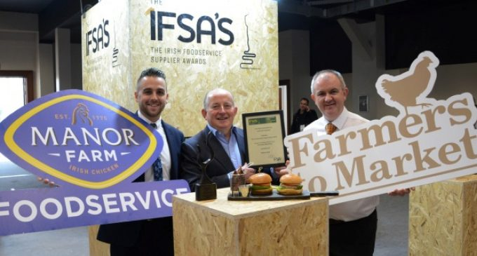 Manor Farm Wins IFSA Best Sustainable Food Product Award 2020